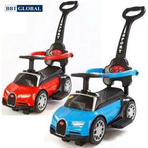 Ô tô chòi chân cho bé kết hợp xe lắc và xe đẩy có nhạc SW009