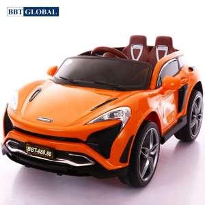 Ô tô điện trẻ em BBT Global kiểu dáng Mclaren cam BBT-888.88C