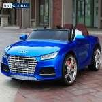 Ô tô điện trẻ em dáng Audi TTS màu xanh phun sơn BBT-9999XS