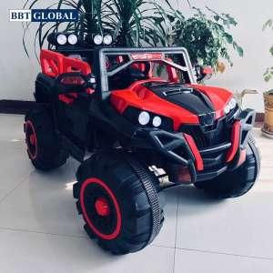 Ô tô điện trẻ em địa hình 4 động cơ màu đỏ BBT-3366D