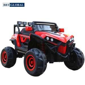 Xe điện cho bé địa hình 4 động cơ màu đỏ BBT-3388D