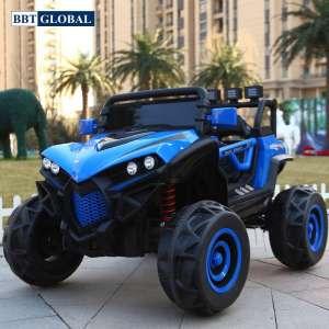 Ô tô điện trẻ em địa hình 4 động cơ xanh dương BBT-3388XD