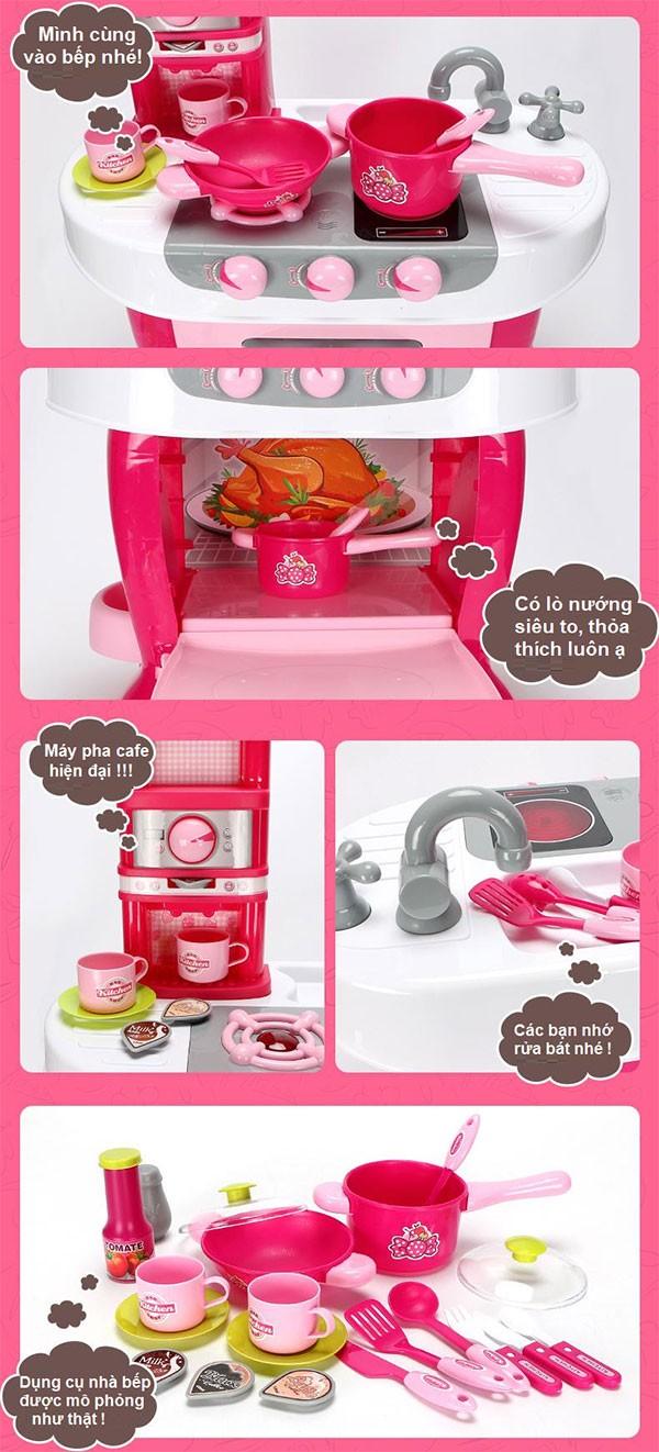 Bộ đồ chơi nấu ăn 008-801A