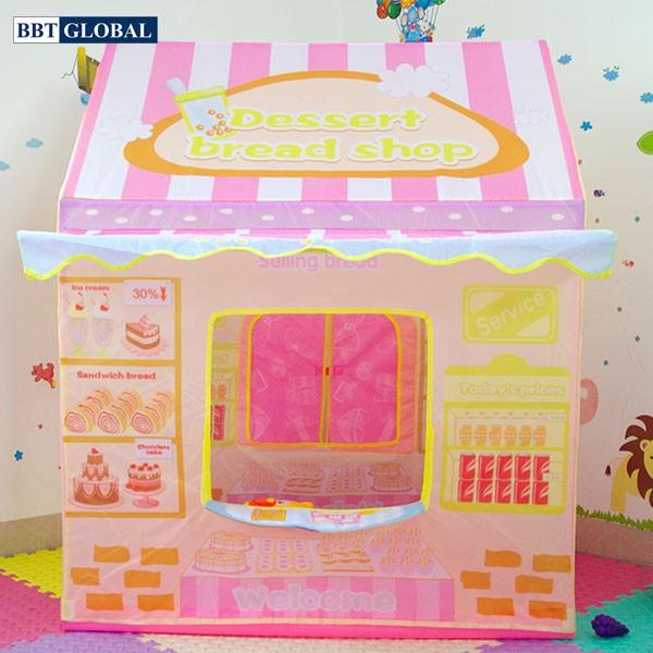 Nhà bóng cho bé tiệm bánh ngọt 1258