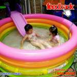Bể bơi phao INTEX cầu vồng 4 tầng 1m68 - 56441