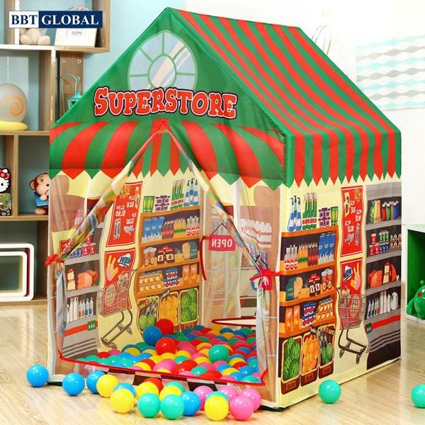 Nhà bóng trẻ em siêu thị đồ ăn 995-7055A
