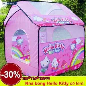 Nhà bóng cho bé Hello Kitty lớn màu hồng A999-208