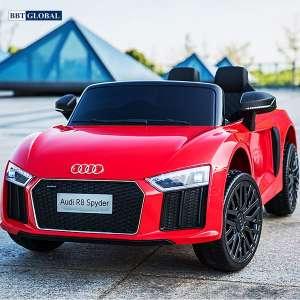 Xe điện trẻ em bản quyền AUDI R8 cao cấp màu đỏ Audi R8-D