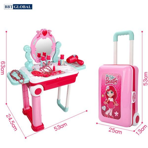 Đồ chơi trang điểm vali kéo cho bé 008-923A