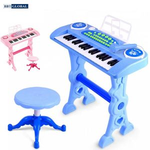 Đồ chơi đàn Organ 37 phím có sạc và ghế cho bé 328-03