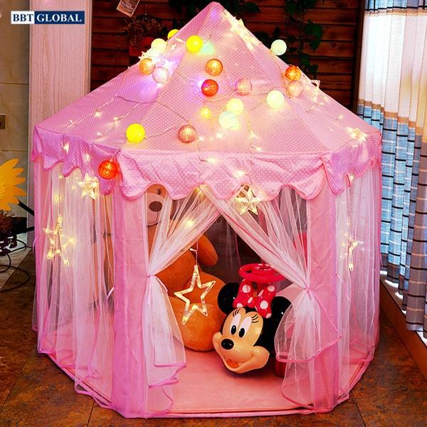 Lều bóng công chúa cho bé