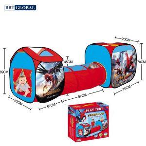 Nhà bóng chui ống 3 khoang Spider Man 995-7084A