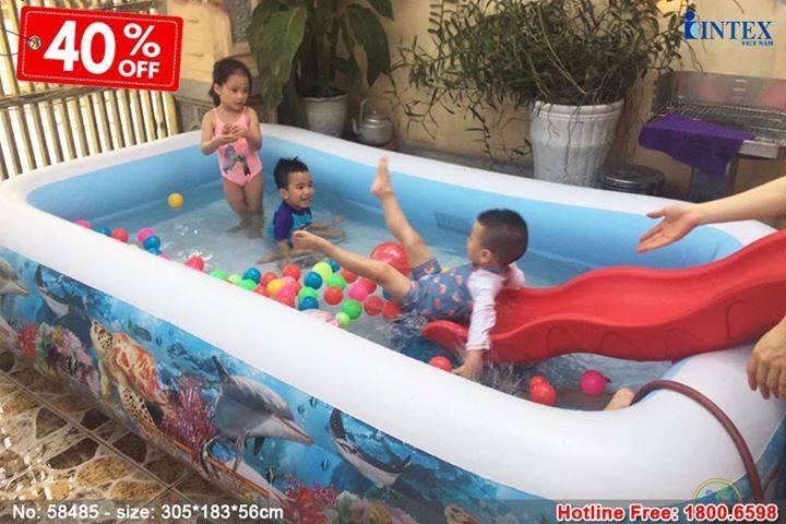 Bể bơi phao đại dương 3m05 INTEX 58485