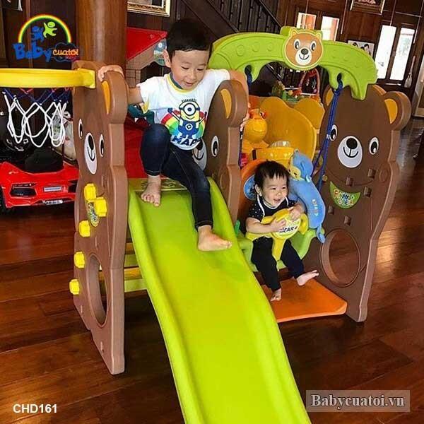 Cầu trượt Hàn Quốc cho bé