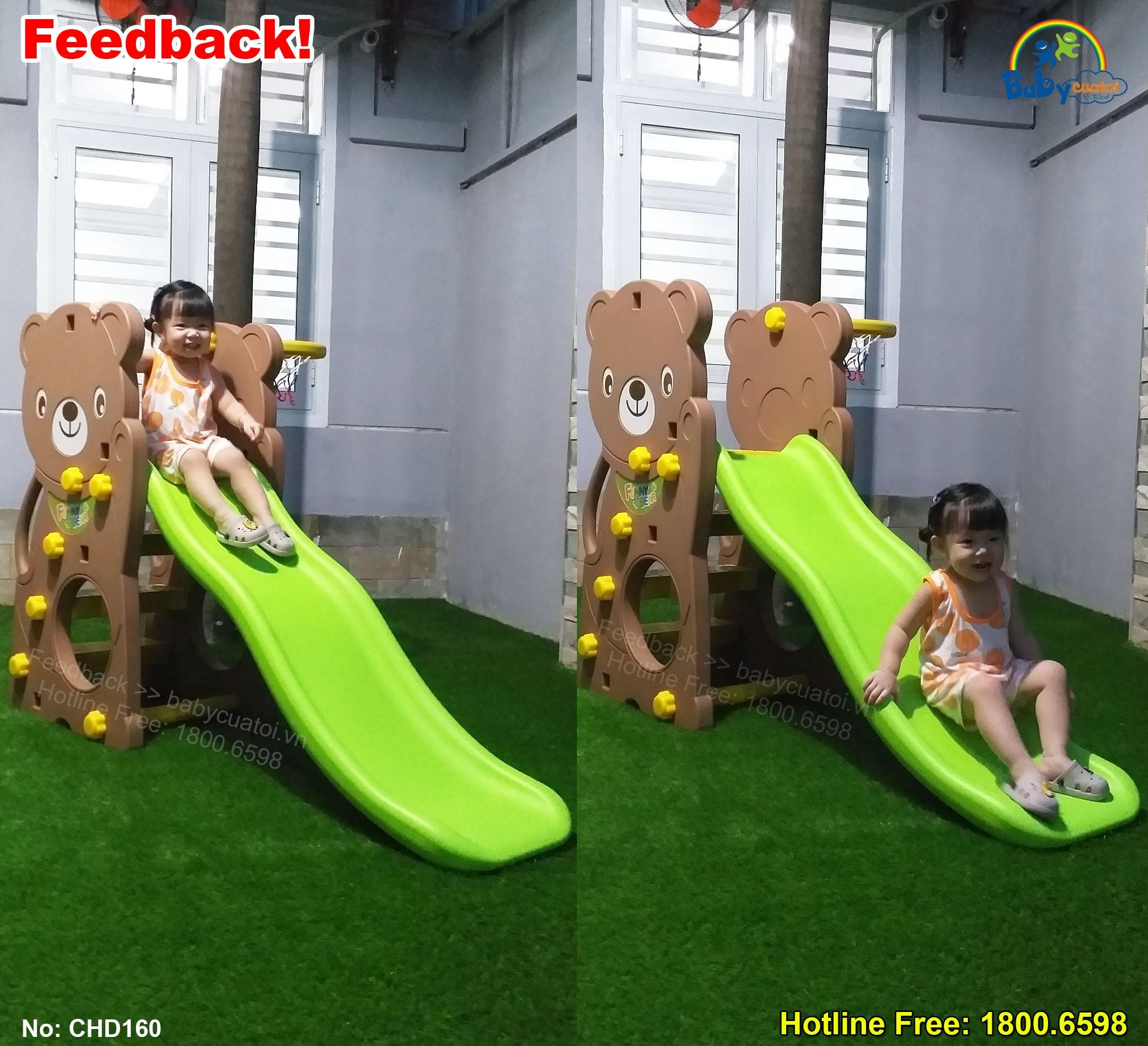cầu trượt Hàn Quốc cho bé CHD160