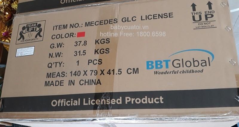 Xe ô tô điện trẻ em Mercedes GLC 63 S | Vỏ hộp