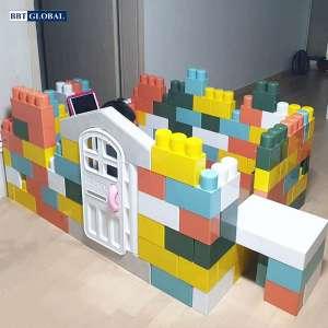 Bộ xếp hình gạch khổng lồ Hàn Quốc cho bé HN993