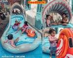 Bể bơi phao đường trượt nước INTEX 57159
