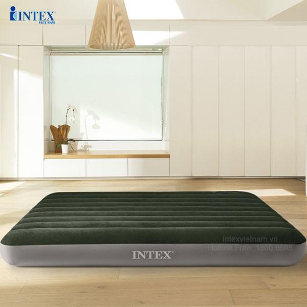 Đệm hơi đôi 1m37 công nghệ mới INTEX 64108