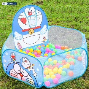 Nhà bóng cho bé Doraemon có ném bóng rổ 1382