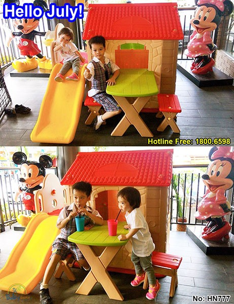 Nhà chơi cho bé Hàn Quốc