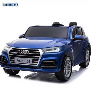 Ô tô điện trẻ em bản quyền AUDI Q5 sơn xanh cao cấp