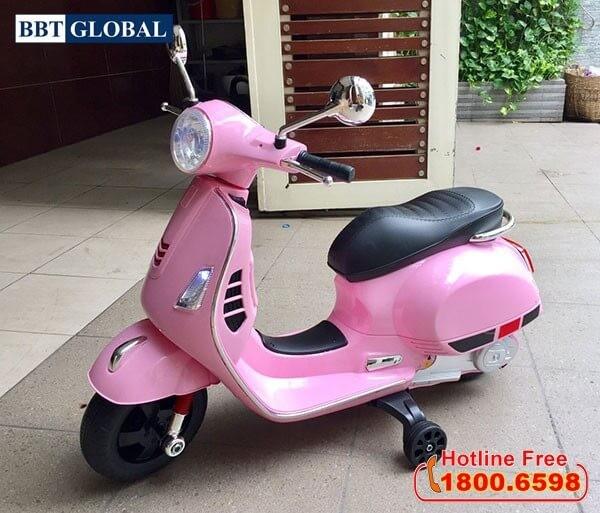 Xe máy điện cho bé gái