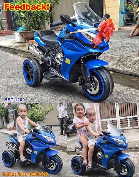 Xe máy điện cho bé trai