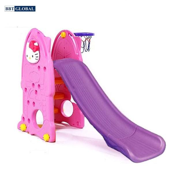 Cầu trượt Hello Kitty máng dài ZK1004
