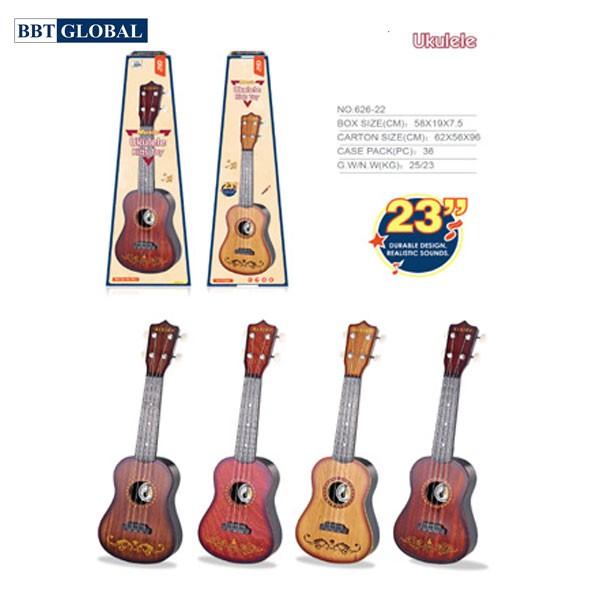 Đồ chơi đàn âm nhạc Ukulele size 60cm cho bé 626-11