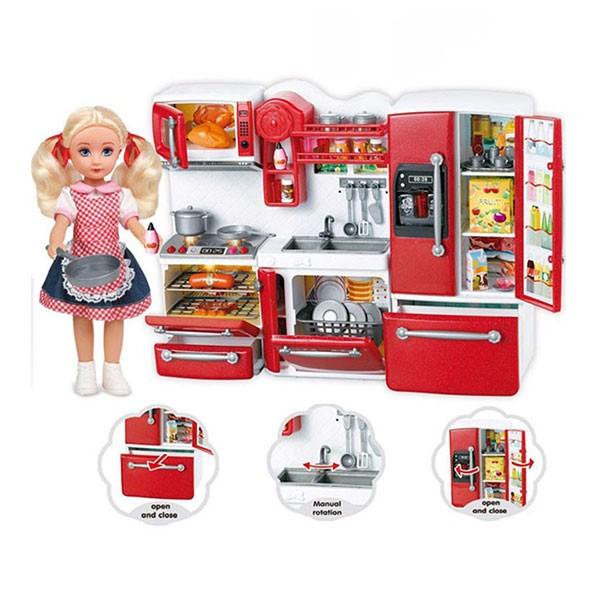 bộ đồ chơi búp bê nấu ăn 66082