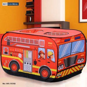 Nhà bóng cho bé mô hình xe cứu hỏa 995-7035B