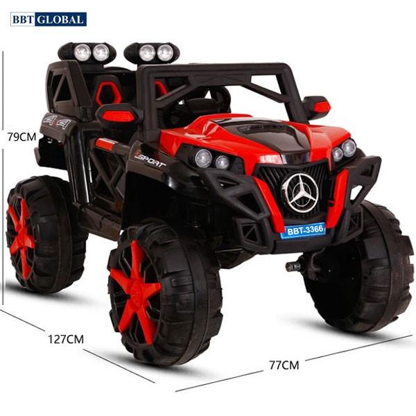 Ô tô điện trẻ em địa hình 4 động cơ BBT-3366N
