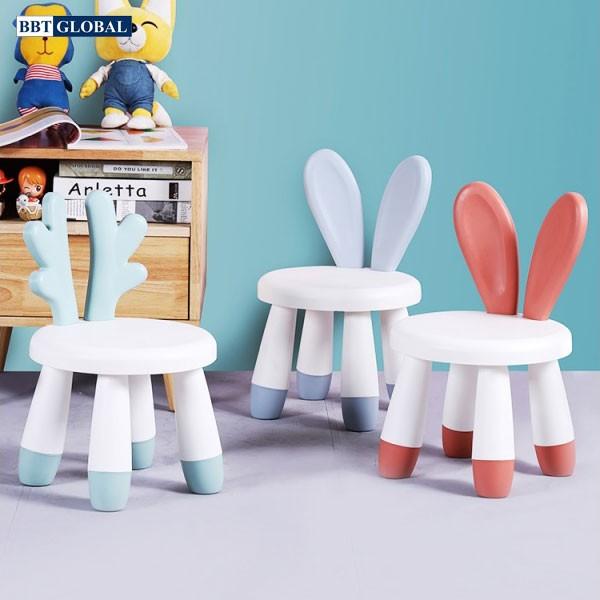 Ghế ngồi tai thỏ đáng yêu cho bé GH01
