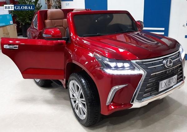 xe ô tô điện trẻ em bản quyền LX570