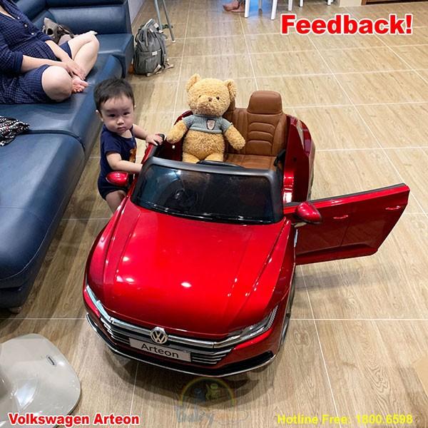 Xe ô tô điện trẻ em bản quyền Volkswagen Arteon