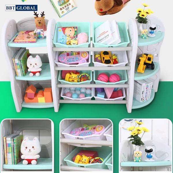 Giá kệ để đồ chơi và đồ dùng cho bé BBT Global SH9603