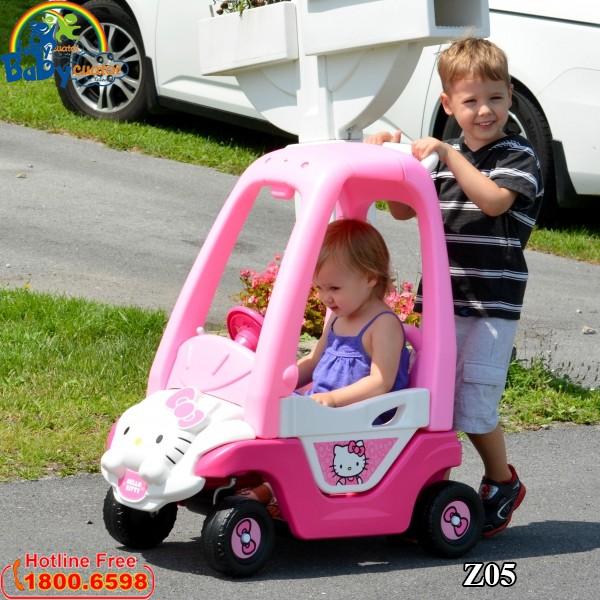 Nên mua xe chòi chân nào cho bé