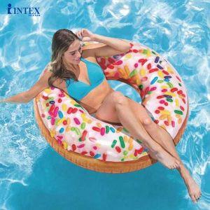 Phao bơi tròn donut 114cm INTEX 56263