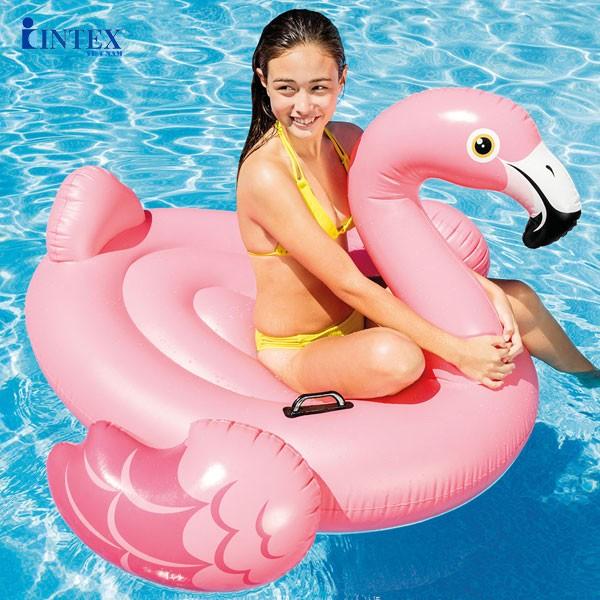 Phao bơi hồng hạc thiếu niên INTEX 57558