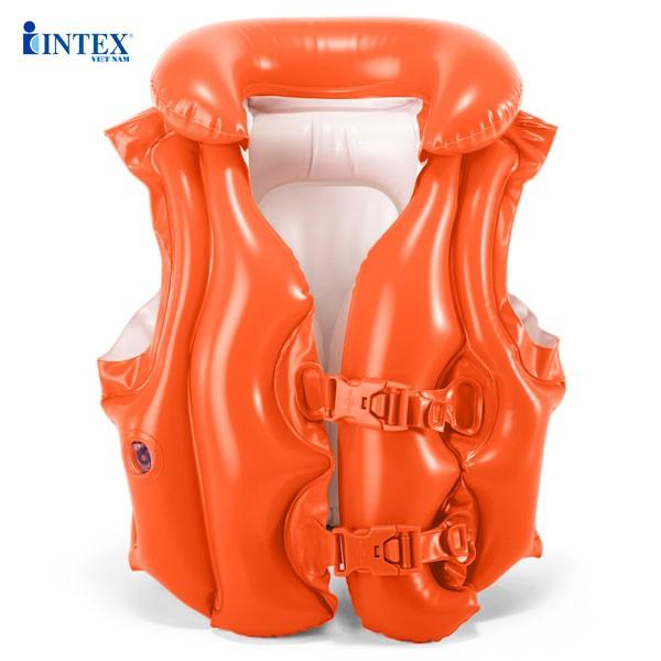 Áo phao bơi INTEX đỏ 58671