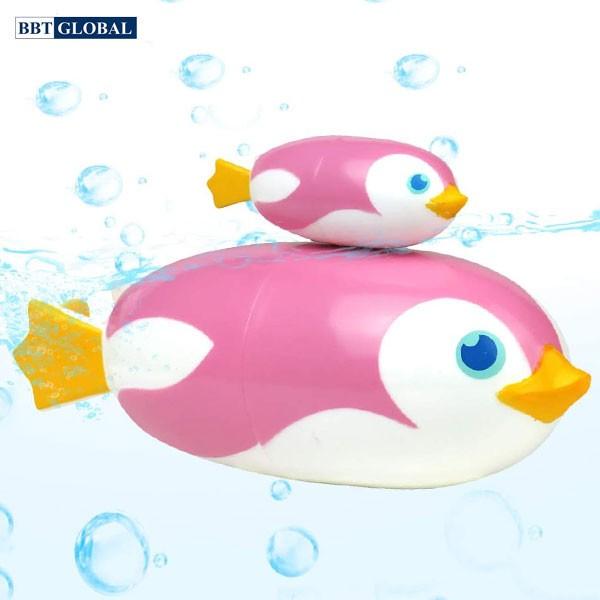 Đồ chơi trong bể tắm 2 chim cánh cụt BBT Global 269