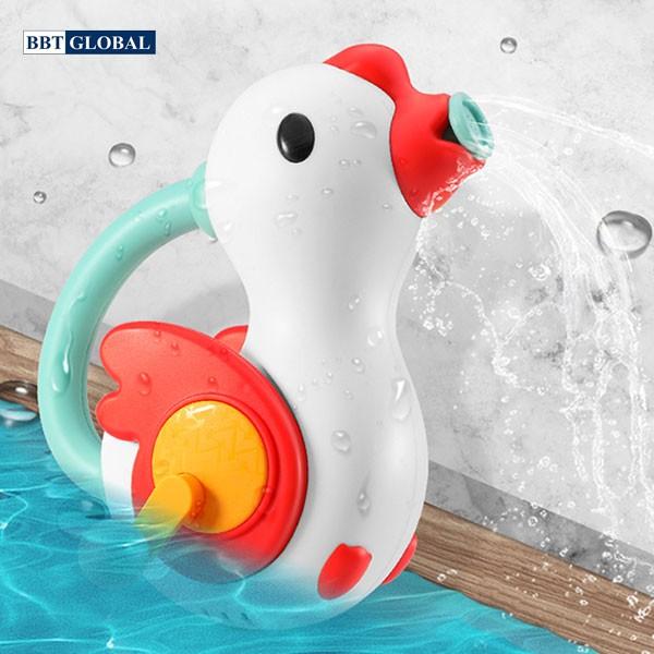 Đồ chơi trong bể tắm vịt phun nước BBT Global 7717