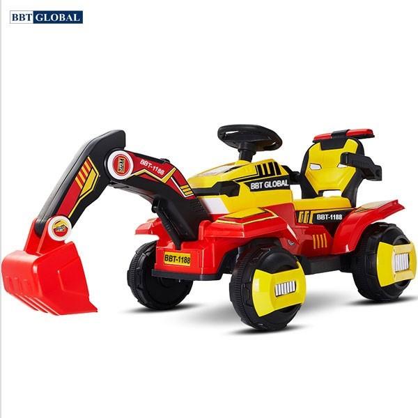 Xe ô tô cần cẩu điện cho bé BBT-1188