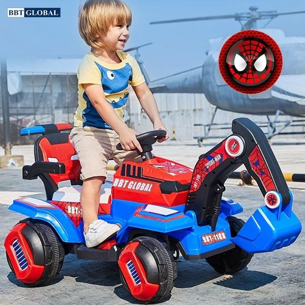 Xe điện cho bé cần cẩu có khiển từ xa BBT-1188