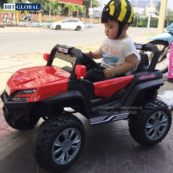 Xe điện trẻ em Địa hình Giá rẻ BBT-3355