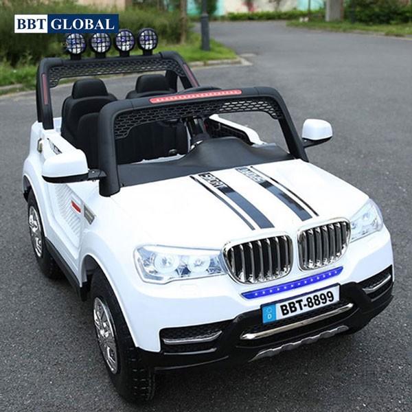 Xe điện cho bé HUMMER 4 động cơ trắng BBT-8899T