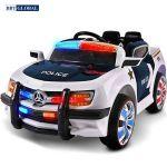Ô tô điện trẻ em cảnh sát xanh trắng BBT-US911-X