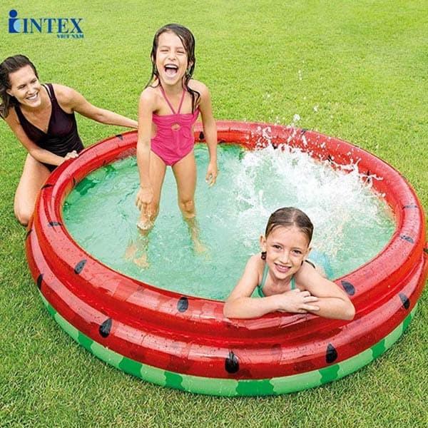 bể bơi phao tròn 3 tầng INTEX 58448