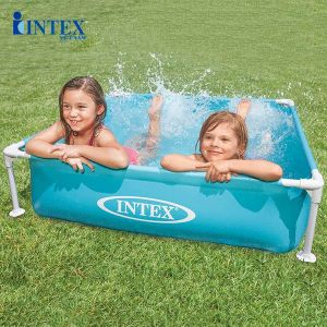 Bể bơi khung kim loại mini 1m22 cho bé INTEX 57173